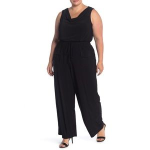 Vince Camuto - Sleeveless Cowl Neck Jumpsuit